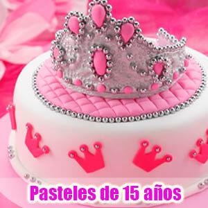 Celebrando los 15 años con las mas bonitas tortas