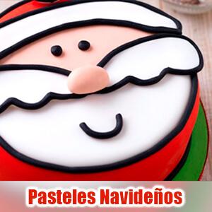 Imágenes de pasteles navideños muy bonitas