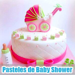 Imágenes de pasteles y tortas para Baby Shower
