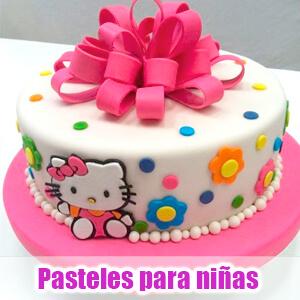 Hermosas tortas y pateles para niñas de todas las edades