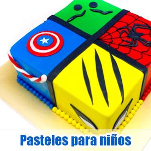 Diseños e imágenes de pasteles para niños y chicos jóvenes