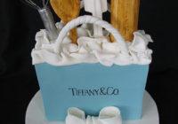 Foto de pastel en forma de bolso para mujeres