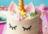 Receta para torta de unicornio